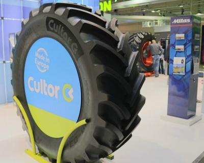 Запуск радиальных сельскохозяйственных шин CultorRD начинается в2016 году
