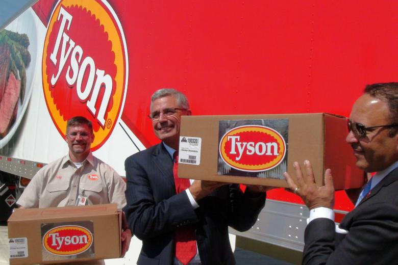 Tyson Foods (Спрингдейл, США)