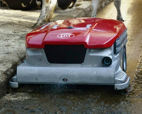 Lely создала робота для уборки навоза насплошных полах
