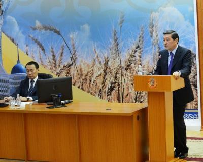 Объем сельхозпроизводства вКазахстане в2013 году вырос на12%