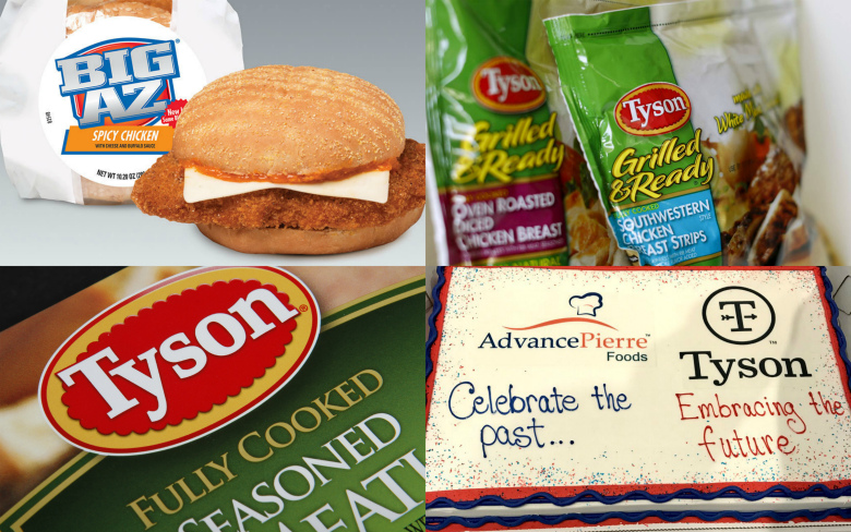 Tyson Foods купила компанию, выпускающую готовые к употреблению блюда