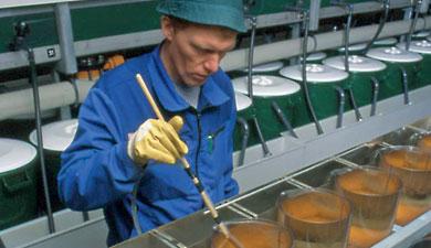 ВБелоруссии облучают икру лазером