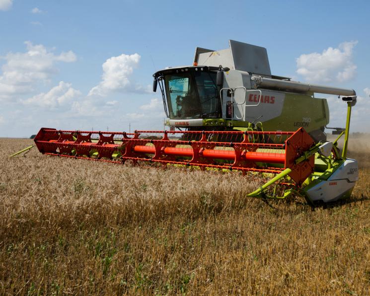 Claas на38% увеличил продажи зерноуборочных комбайнов вРоссии