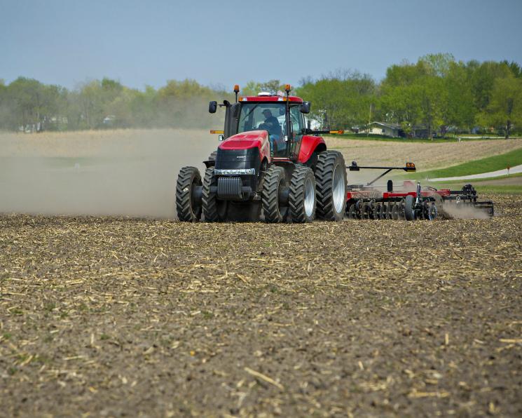 Яровые зерновые посеяны на трети прогнозных площадей