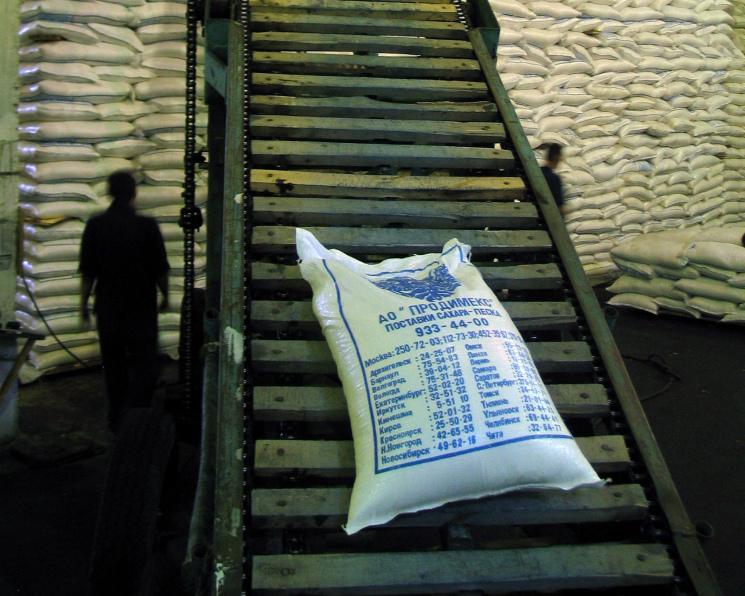 Россия экспортировала 500 тысяч тонн сахара