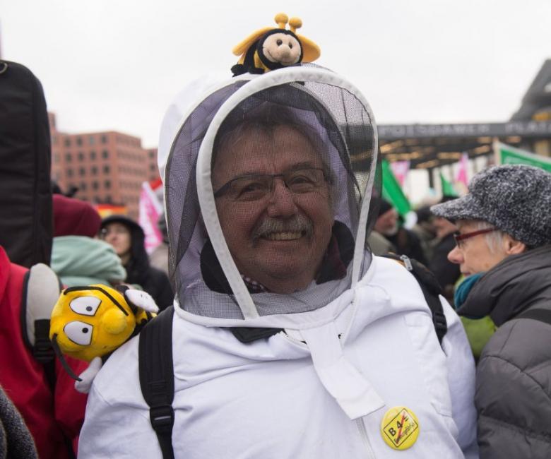 Акция протеста аграриев вБерлине