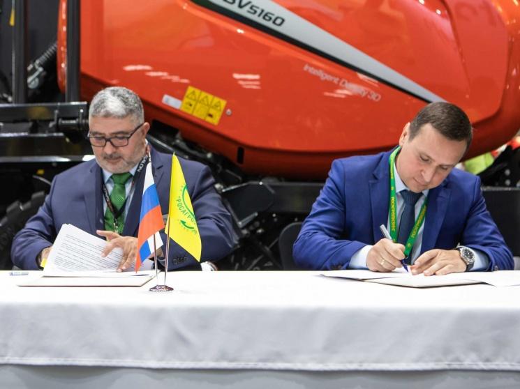 Квернеланд Груп СНГ» и «Росагролизинг» подписали новое соглашение на « Агросалон-2020» — Агроинвестор