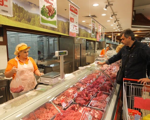 ВРоссии растут производство ипродажи продуктов питания