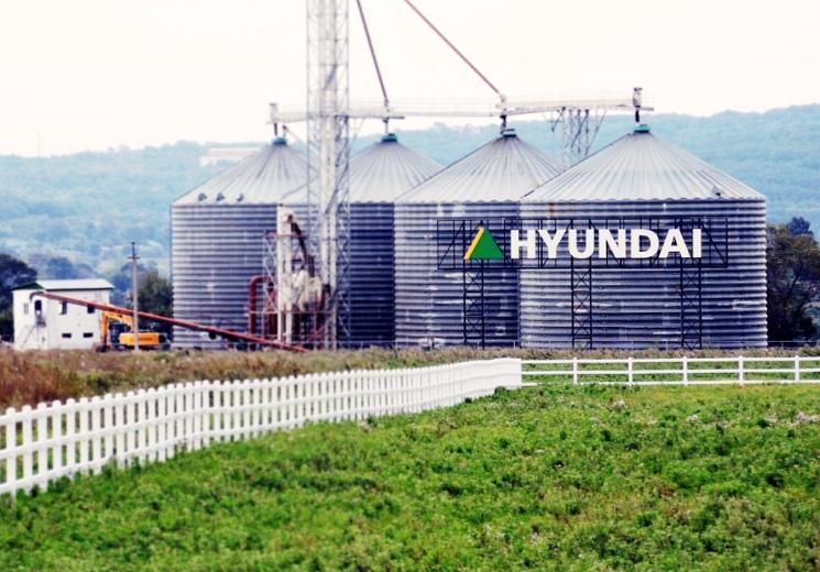 Hyundai продает агроактивы вПриморье