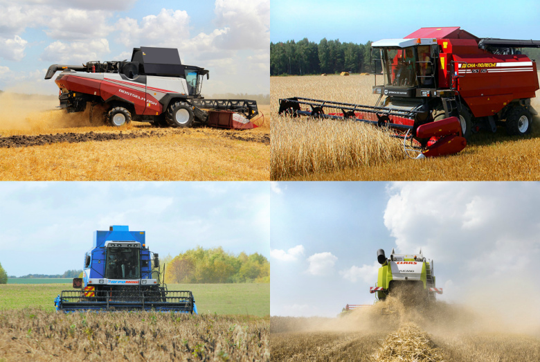 Какой техникой аграрии собирают рекордный урожай-2016