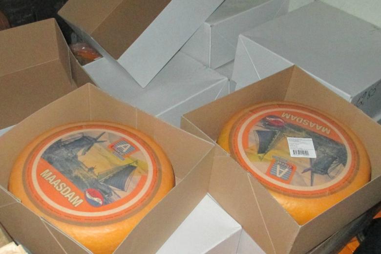 Сыр под видом «российского»