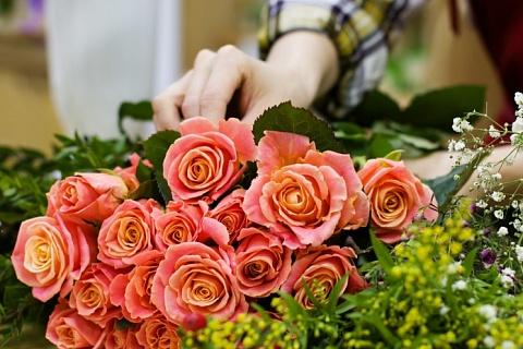 Продажи цветов к 8марта вырастут более, чем в 10 раз