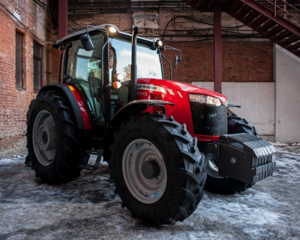 AGCO-RM выпустила новый трактор всреднемощном сегменте
