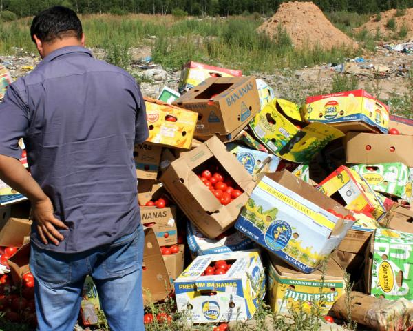 Срок уничтожения санкционных продуктов продлен до 2018г.