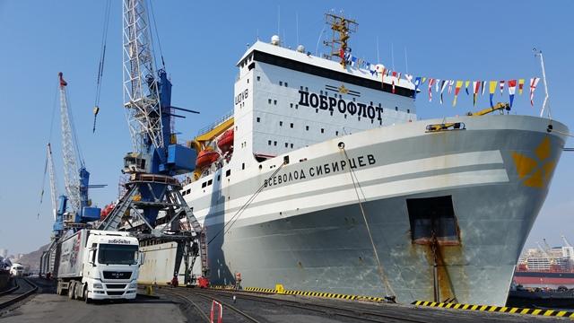 «Всеволод Сибирцев» - один из крупнейших в мире плавзаводов