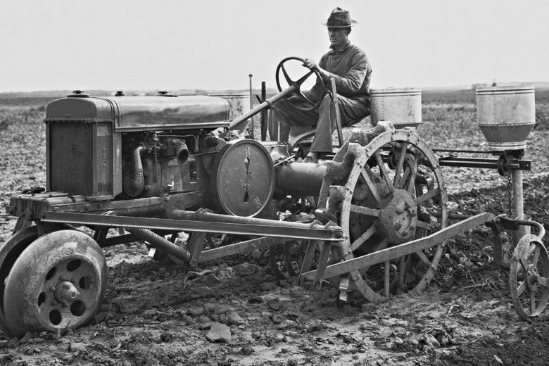 Агротехника разных поколений
