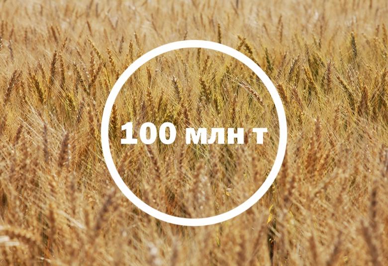 Зерно— 100 млн т