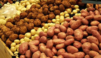 Повезли картофель
