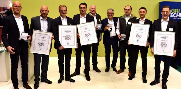Новость партнера: AGCO получила 17 престижных наград врамках выставки Agritechnica 2017