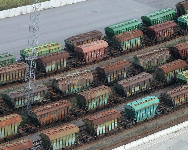 Минтранс предлагает штрафовать запростой вагонов