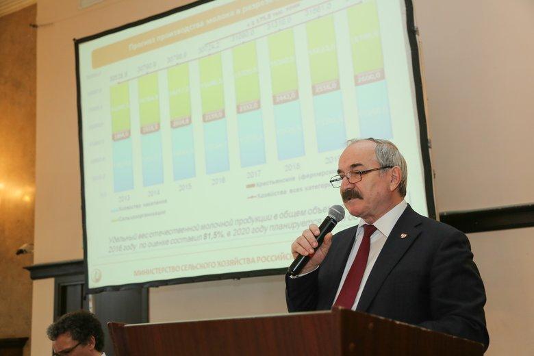 Открывает конференцию Харон Амерханов, директор, Департамент животноводства иплеменного дела Минсельхоза России