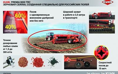 Реклама. КУН PREMIA 9000 TRC