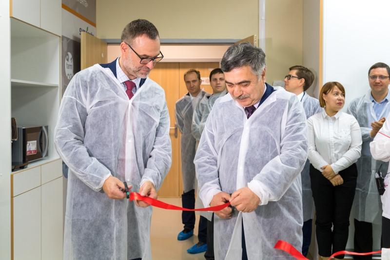 официальное открытие лаборатории