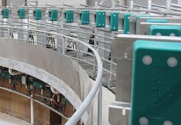 ВООО«Красный Маяк» Ярославской области сдан вэксплуатацию новый доильный зал на2000 голов дойного стада