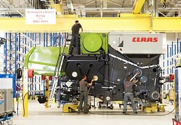 Партнерский материал. CLAAS: завод в Краснодаре признан лучшим по качеству продукции среди всех заводов группы в мире