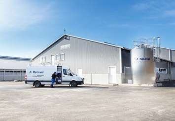 Партнерский материал. Чиллеры CWC и вертикальные танки DX3S DeLaval— эффективное охлаждение и хранение молока
