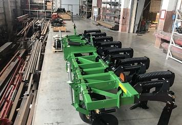 Партнерский материал. На Липецком заводе Kverneland Group запущено производство техники Great Plains