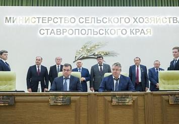 Партнерский материал. «Ростсельмаш» и Ставрополье остаются верны крепким партнерским отношениям