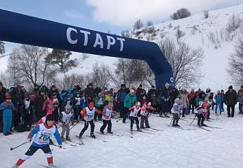 Партнерский материал. Ежегодная лыжная гонка в городе Калтане Кемеровской области