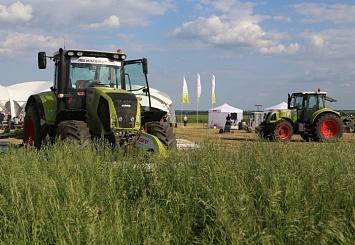 Партнерский материал. CLAAS: Заготовка кормов под знаком качества— день поля вКалужской области