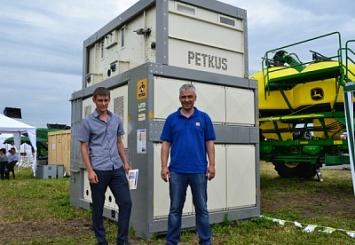 Компания PETKUS на Всероссийском дне поля на Алтае