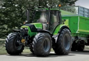 Трактор Deutz-Fahr 6 серии странсмиссией Cshift был признан «машиной 2016 года»
