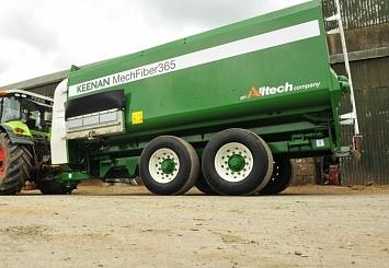 Партнерский материал. Углеродный фонд признал машины KEENAN первыми в мире экологически устойчивыми кормораздатчиками